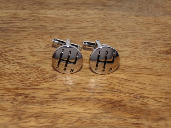 silber gearstick cufflinks auto geschenke geschenke f r etsy. Black Bedroom Furniture Sets. Home Design Ideas