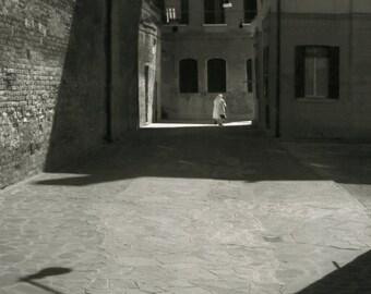 Sant'Alvise.Silver gelatin print 8x10 inches,selenium toned