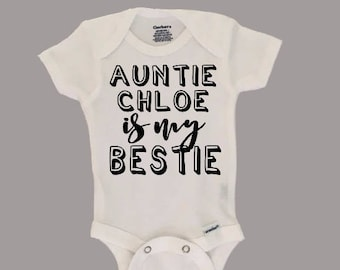 Aunt onesies etsy aunt onesies aunt shirt baby outfit new aunt shirt auntie is negle Images