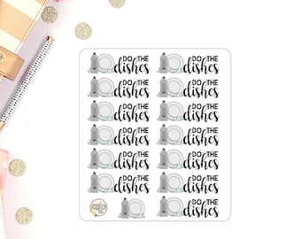Do the Dishes Planner Stickers