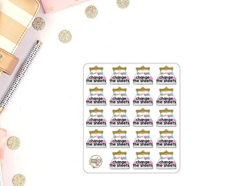Change The Sheets Planner Stickers