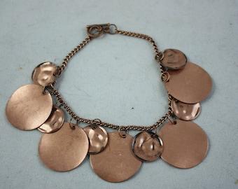 bracelets, copper bracelets, metal bracelets, chain bracelets