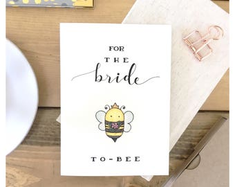 BRIDE TO BE // card for bride, wedding card, bridal shower card, funny wedding card, cute bridal shower card, cute wedding card, bridal card