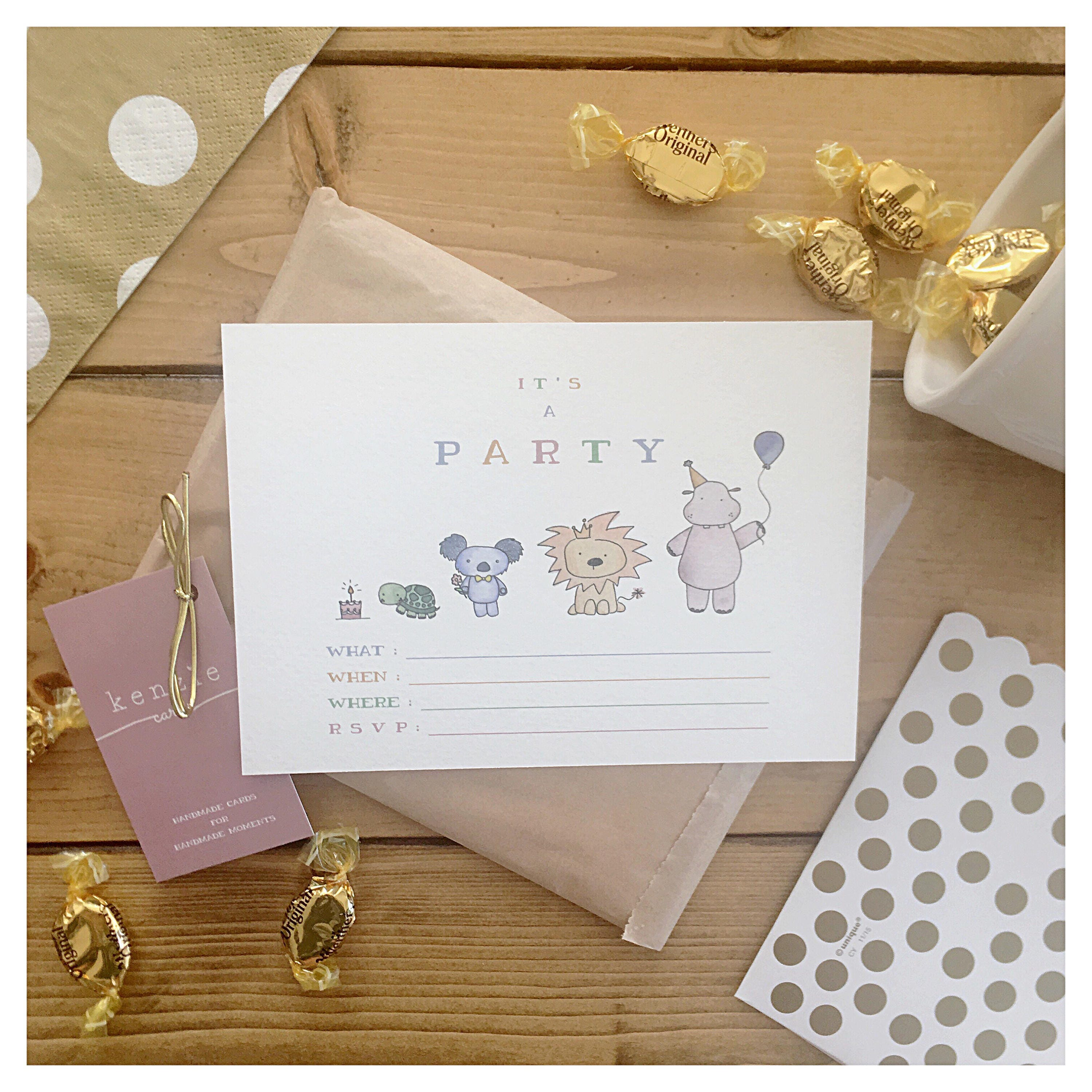 animal party invitations 10 pack party animal animal theme