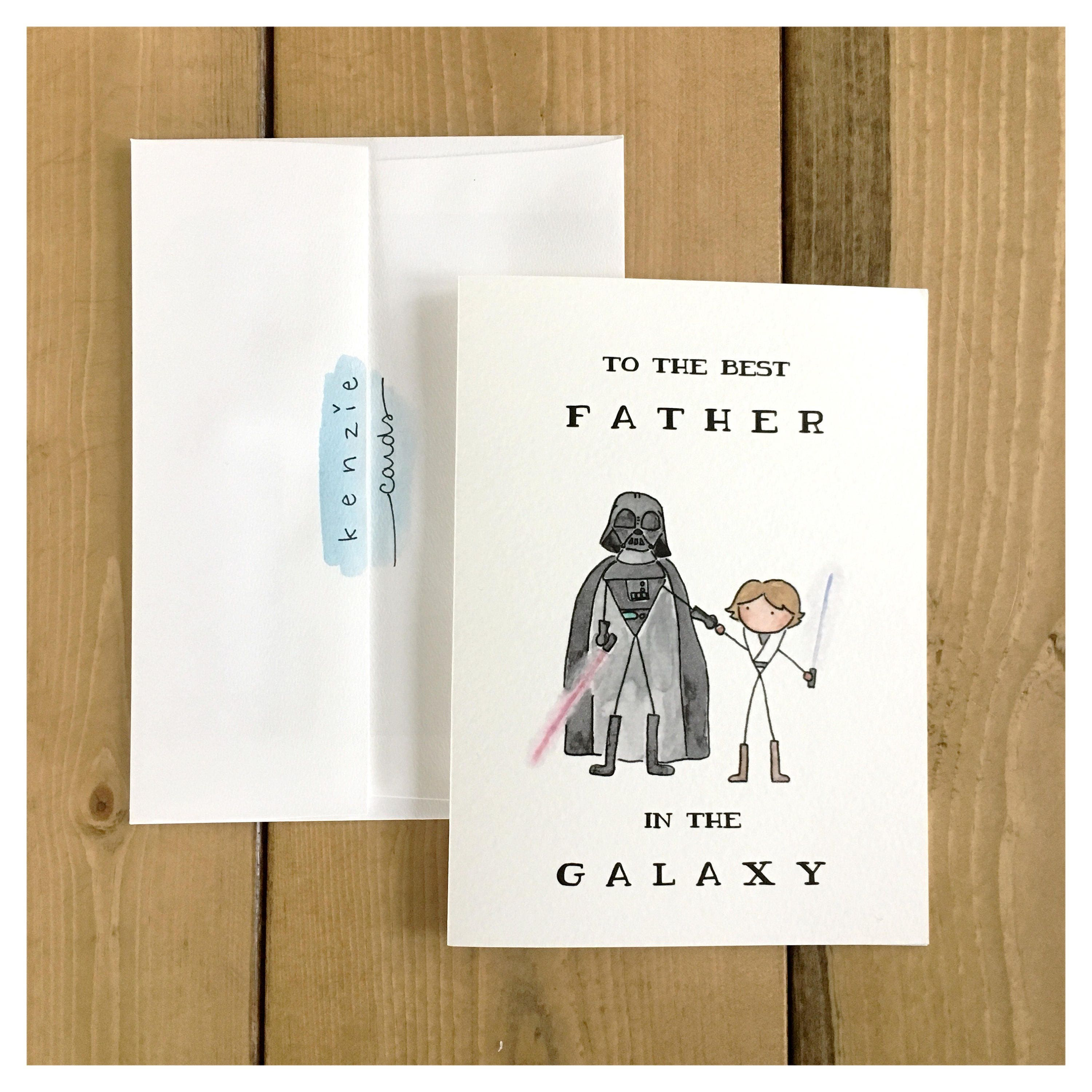 Best Father In The Galaxy Luke Skywalker Darth Vader Fathers