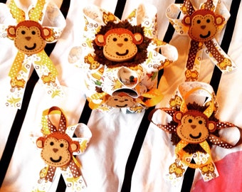 Mini Monkey Pins