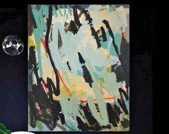 Acryl auf Leinwand, 2019, 100 x80 cm