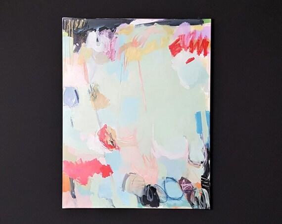 Mischtechnik auf Leinwand, 2017, 90 x 70 cm