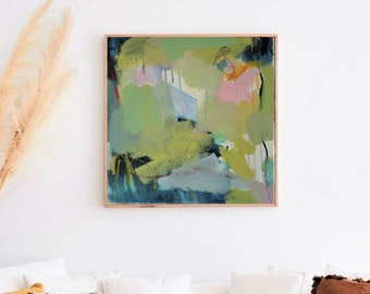 Acryl auf Leinwand, 2017, 50 x 50 cm