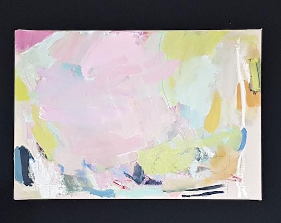 Mischtechnik auf Leinwand, 2019, 55 x 80 cm