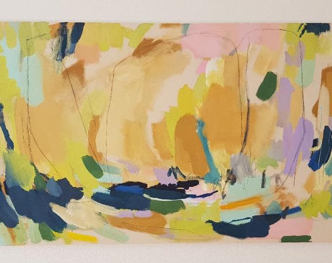 Featured listing image: Acrylbild auf Leinwand, 70 x 130 cm, 2019