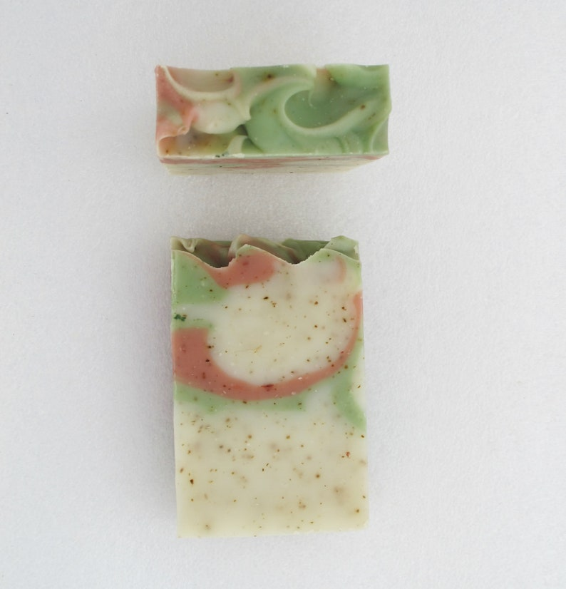 Pure Peppermint Soap Bar natural soap gentle skincare image 0