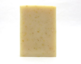 Herbal Soother Soap Bar, Unscented bar, all natural soap for sensitive skin