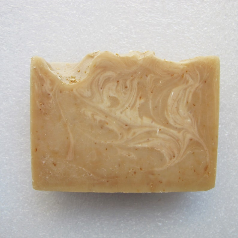 Coconut Milk Oats & Honey Soap Bar skin soothing gentle image 0