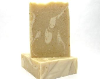 Coconut Milk, Oats & Honey Soap Bar, skin soothing, gentle soap, soap bar,