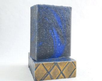 Azure Night Men's designer bar Soap,