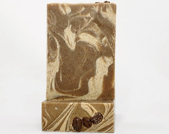 Coffee Bar Soap 'Triple Shot'  ~ Rich Coffee infused specialty Soap