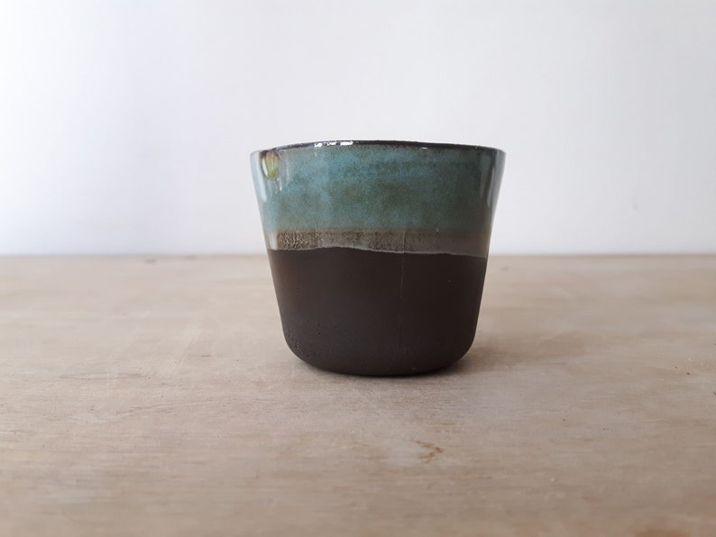 089e89fbf99 1x Modern Espresso Cups No Handles Set Unique Glaze Coffee Mug Unique Gift  Housewarming Christmas Gift Under 20 READY TO SHIP *1 Left Only*~
