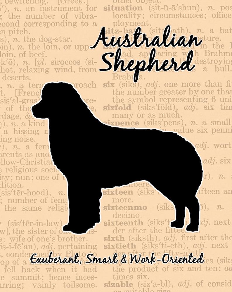 Australian Shepherd Silhouette image 0