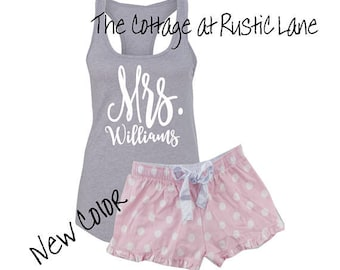 c7860c2d3c Personalized Mrs. Tank and Boxer set