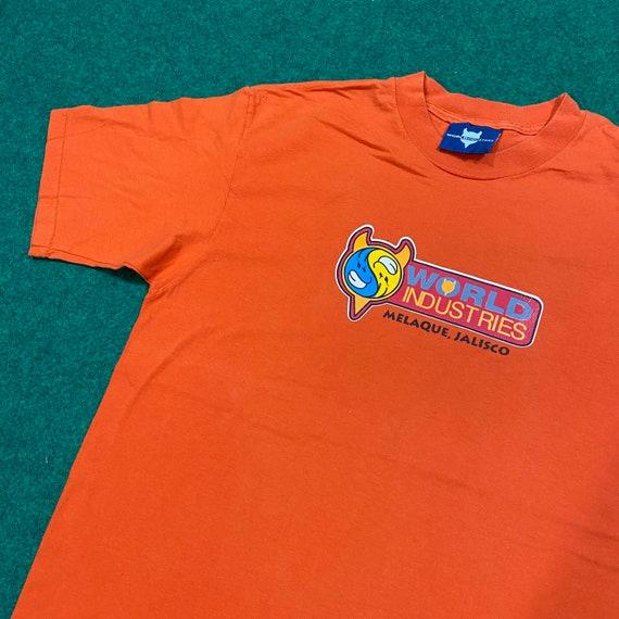 Vintage 1990's World Industries Skateboard T-Shirt