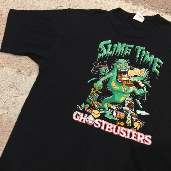 Vintage 1980's Ghostbusters Slime Time T-Shirt