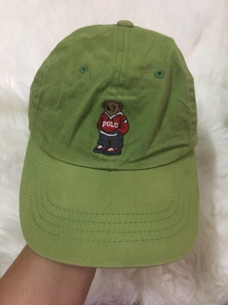 Ralph Hat Original FishingEtsy Bear Lauren Polo Cap Vintage qGLSUpzMV