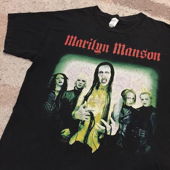 Vintage 2000's Marilyn Manson T-Shirt (Rare) - image 1