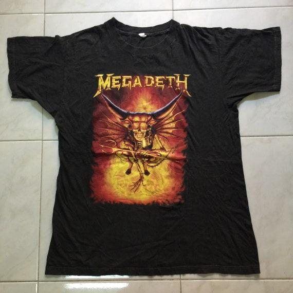 Vintage 90s Megadeath Tour T-Shirt