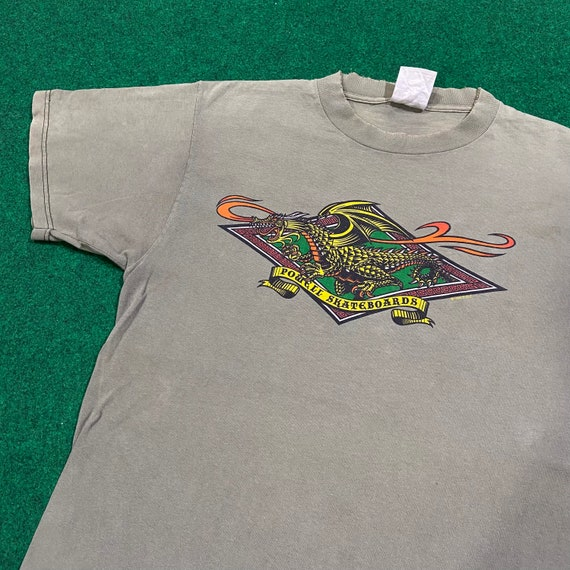 Vintage 90's Powell Peralta Skateboard T-Shirt