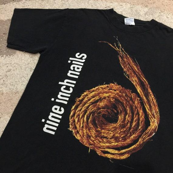 Very Rare Vintage 1990's Nine Inch Nails T-Shirt