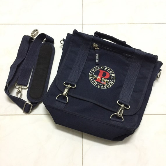 Vintage 90s Polo Sport 12M.YACHT 3WAY bag rucksack