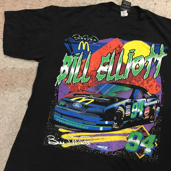 Vintage 1990's Nascar Bill Elliott T-Shirt