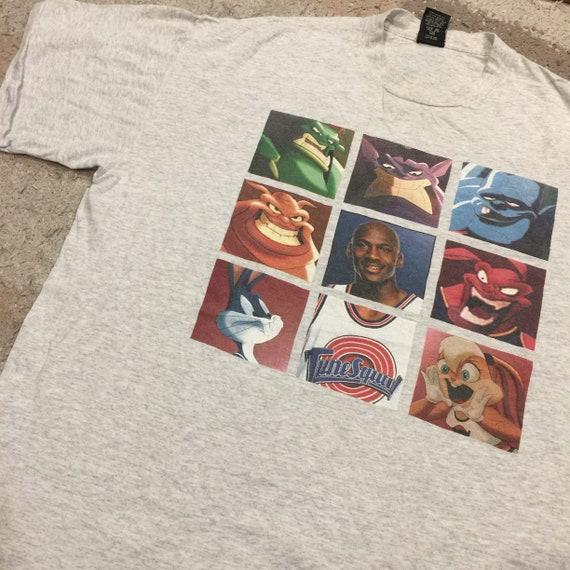 Vintage 1990's Space Jam Tune Squad T-Shirt