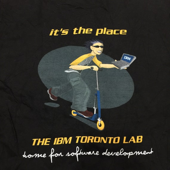 Vintage 1990/'s The IBM Toronto LabT-Shirt