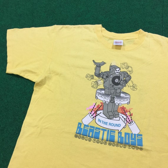 Vintage 1990's Beastie Boys World Tour T-Shirt Rar