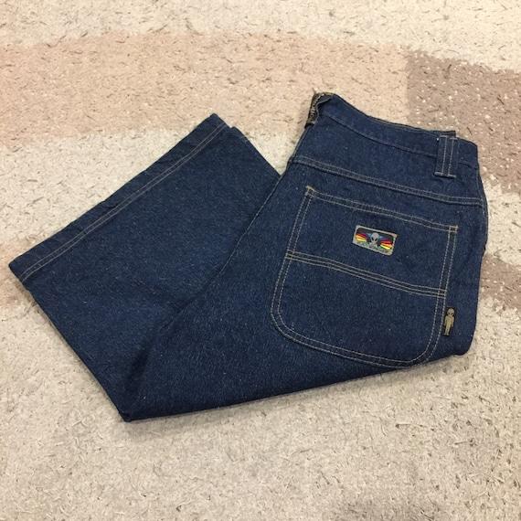 Vintage 90s Alien Workshop Skateboard Jeans Shorts