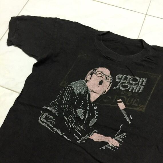 Vintage 1970's Elton John T-Shirt