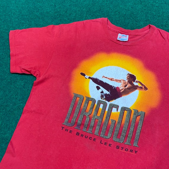 Vintage 1990's Dragon The Bruce Lee Story T-Shirt