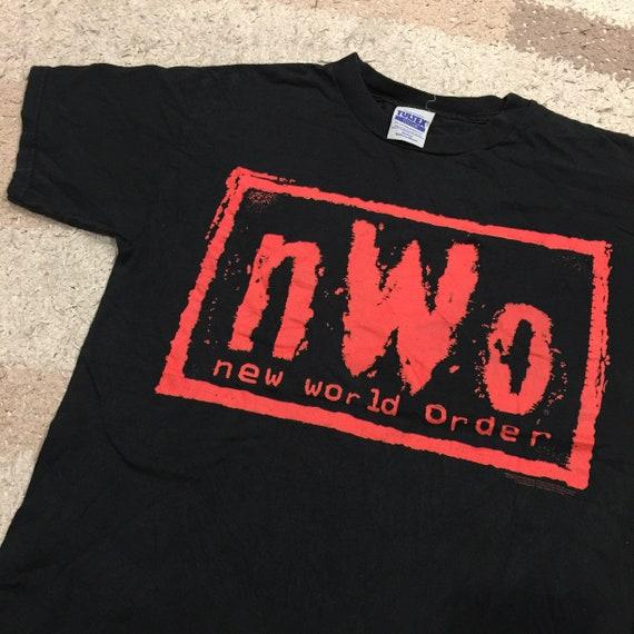 Vintage 90's NWO New World Order T-Shirt