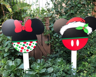 Disney Christmas Decorations Outdoor Etsy