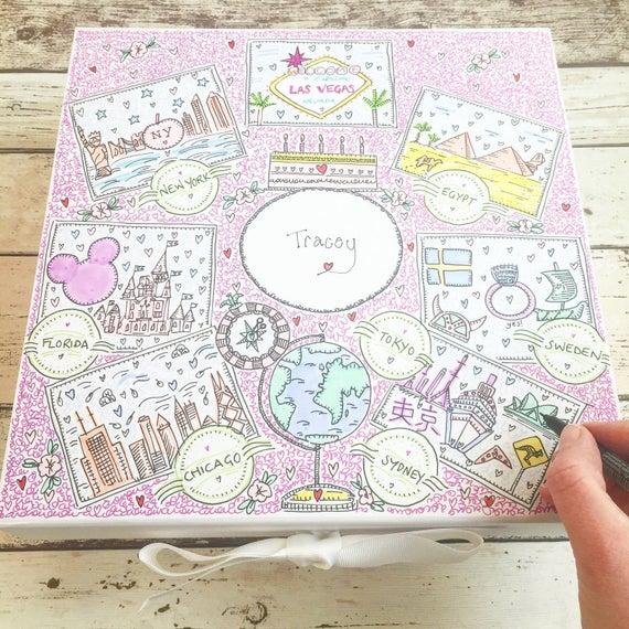 35 Hojas Pink Pig Cuaderno De Bocetos Retrato A3Cartucho Marrón Reciclado
