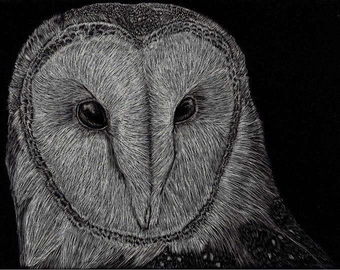 Aluminum substrate reproductions of my orginal work!!! Scratchboard reproductions!