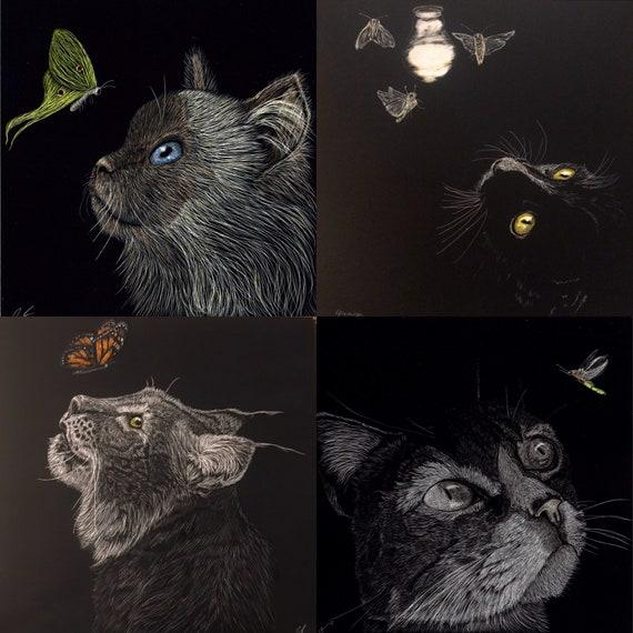 Cat! Cats! Cats!  Ornaments, prints and originals for order!