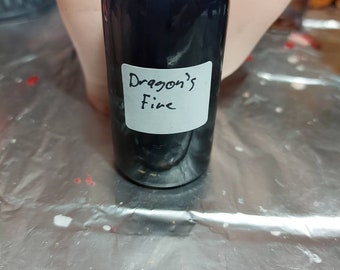 Dragons fire oil