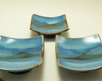 Medium Square Ceramic Plate - Scottish Landscapes