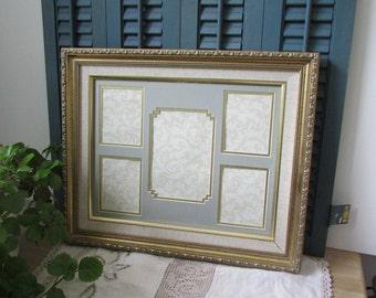 Antiques Vintage Gold Leaf Wood Carved Picture Frame 15 X 12 Home Decor Interior Design
