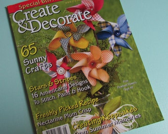 Create U0026 Decorate Magazine 09  Primitive Home Decor Ideas,punch  Needle,craft Books,handmade,decorating Ideas,sewing Ideas,country Home Decor