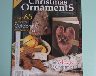Create U0026 Decorate Magazine Holiday 2007 Issue Primitive Home Decor,punch  Needle,craft Books,decorating Ideas,sewing Ideas,country Home Decor