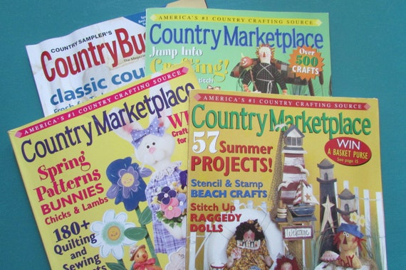 4 Country Marketplace Country Business Magazines Country Etsy